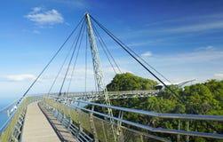 Himmel-Brücke auf Langkawi-Insel Stockfotografie