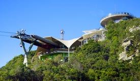 Himmel-Brücke auf Langkawi-Insel Lizenzfreies Stockbild