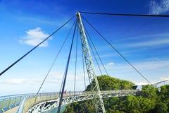 Himmel-Brücke auf Langkawi-Insel Stockbild