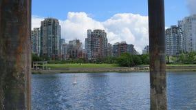 Himmel-Canada See stockbilder