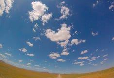 Himmel in der Wüste Stockbilder