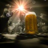 Himmel des Bieres 3d Lizenzfreie Stockfotos