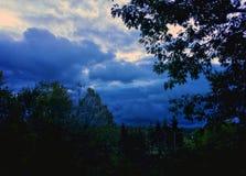 Himmel des frühen Morgens Stockfotografie