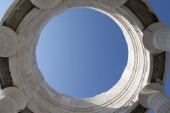 Himmel in einem Ring Lizenzfreie Stockfotos