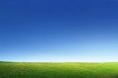 Himmel för bakgrundsBeutyfull skymning Arkivfoto