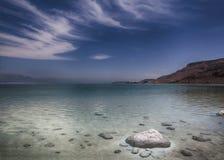 Himmel för dött hav Arkivfoton