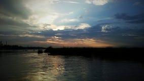 Himmel för solnedgångfotofotografi Royaltyfri Fotografi