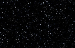 Himmel för stjärnklar natt Arkivfoto