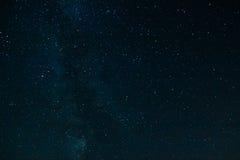 Himmel för stjärnklar natt med konstellationer Royaltyfria Foton