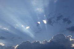 Himmel för stormen arkivbilder