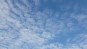 Himmel fördunklar ultrarapid stock video