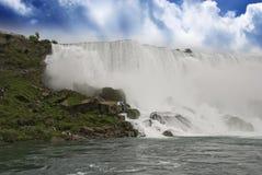 Himmel-Farben von Niagara Falls Lizenzfreie Stockfotografie