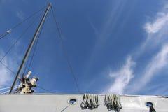 Himmel från fartyget Royaltyfria Bilder