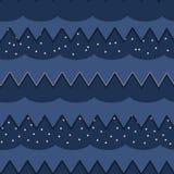 Himmel från papper royaltyfri illustrationer