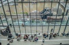 Himmel-Garten, London Stockfotografie