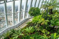Himmel-Garten, London Stockbild