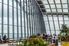 Himmel-Garten, London lizenzfreie stockfotografie