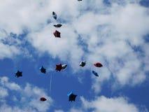 Himmel gerade ein Ballon weg lizenzfreie stockbilder