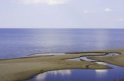 Himmel, hav och land Royaltyfri Fotografi