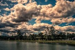 Himmel i Da-Lat Arkivbilder