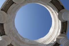 Himmel i en cirkel Royaltyfria Foton