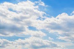 himmel i molnen Royaltyfri Bild