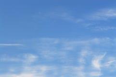 himmel i molnen Arkivfoton