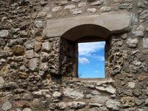 Himmel i Provence (Frankrike) Ciel de provence Arkivfoton