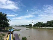 Himmel i Thailand Arkivfoton