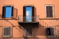 Himmel im Fenster Lizenzfreies Stockfoto