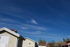 Himmel im Frühjahr lizenzfreie stockbilder