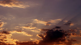Himmel im Frühjahr Stockfotografie