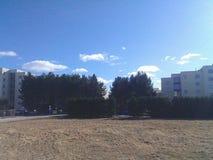 Himmel ist die Grenze Stockbilder