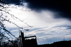 Himmel ist die Grenze lizenzfreie stockfotos