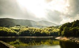 Himmel Lake Arkivfoto