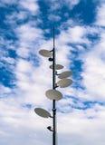 Himmel-Lampe Stockfotos