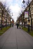 Himmel-Linie von St Petersburg Stockbild