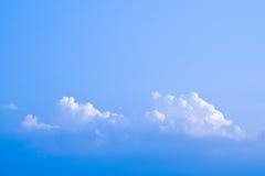 Himmel med moln, himmel och moln royaltyfria foton