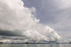 Himmel med molnigt Royaltyfria Foton