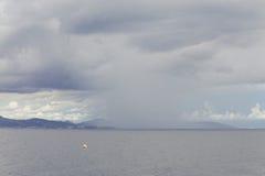 Himmel med molnigt Arkivfoton