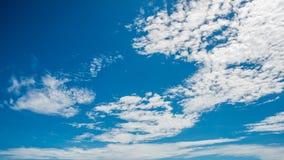 Himmel mit der Wolke, am bewölktesten Lizenzfreies Stockbild