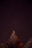 Himmel mit Diamanten Stockfoto