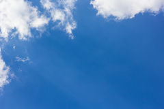 Himmel mit Wolke Stockfotografie