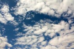 Himmel mit Wolken Lizenzfreie Stockfotografie