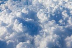 Himmel mit Wolken Stockfotos