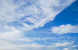 Himmel & moln i Thailand Arkivfoton