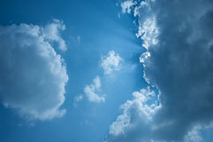Himmel & moln i Thailand Royaltyfria Bilder