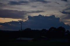 Himmel morgens Stockbilder
