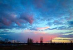 Himmel nach dem Sturm Lizenzfreie Stockfotografie