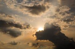 Himmel nach Sonnenuntergang Lizenzfreie Stockfotografie